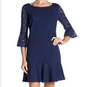 Laundry by Shelli Segal Midnight Blue Dress NWT 2